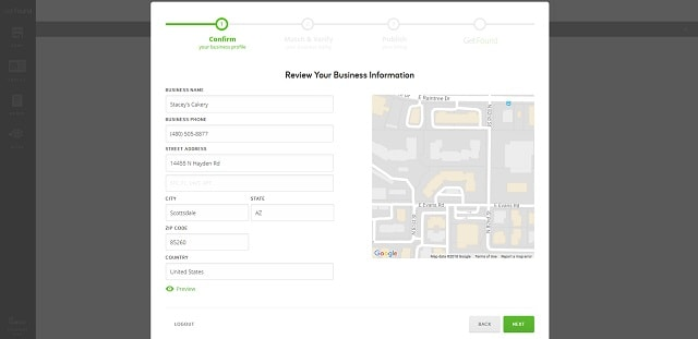 Manage Your Online Listings Information