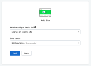 Managed WordPress bulk plans - migration wizard