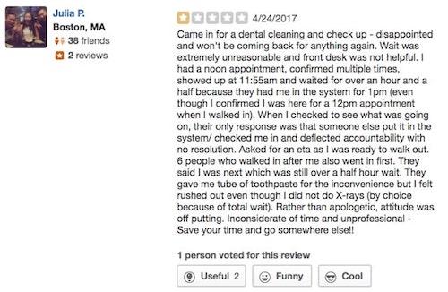 Managing Reviews Negative Feedback Online