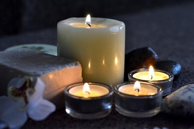 Massage Websites Candles