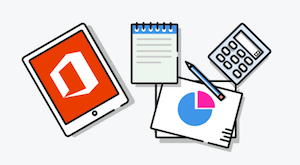 Microsoft Outlook Office 365 Productivity Icons