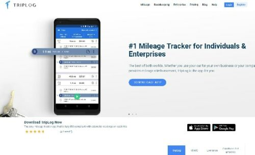 Mileage Tracker Apps TripLog