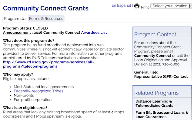 Minority Small-Business Grants Community Connects
