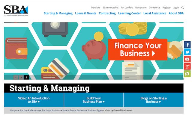 Minority Small-Business Grants SBA