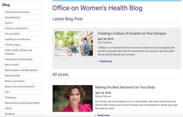 National Women's Health Week Blog
