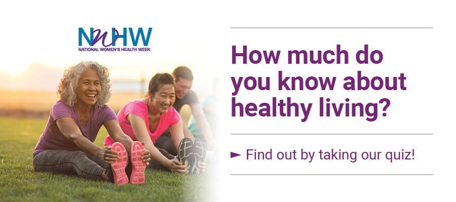 National Women's Health Week Carousel