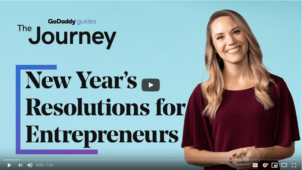 New Years Resolutions Entrepreneurs Journey Video