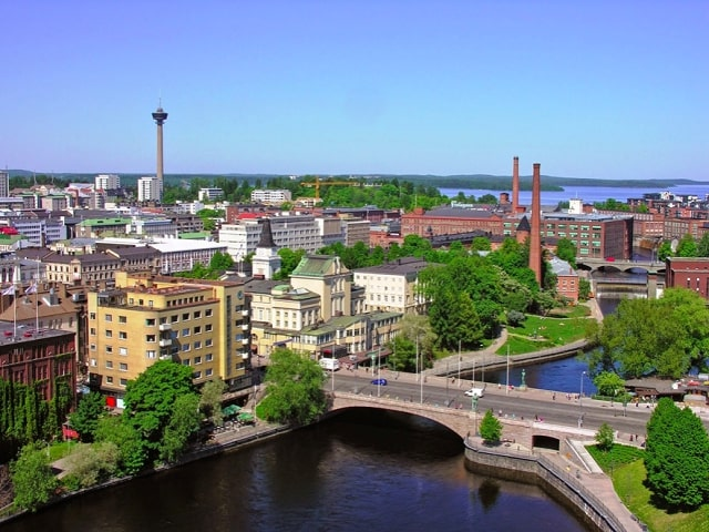 Tampere Finland City Center