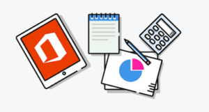Office 365 Collaboration Tools Productivity Icons