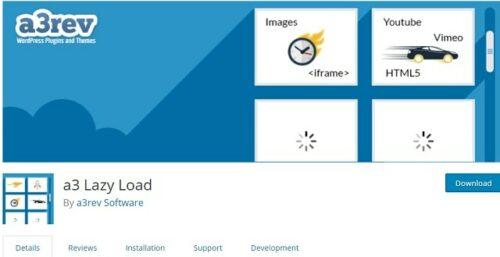 Ottimizza le immagini per il caricamento lento di Web A3