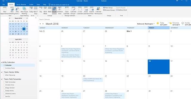 Outlook Calendar Office 365