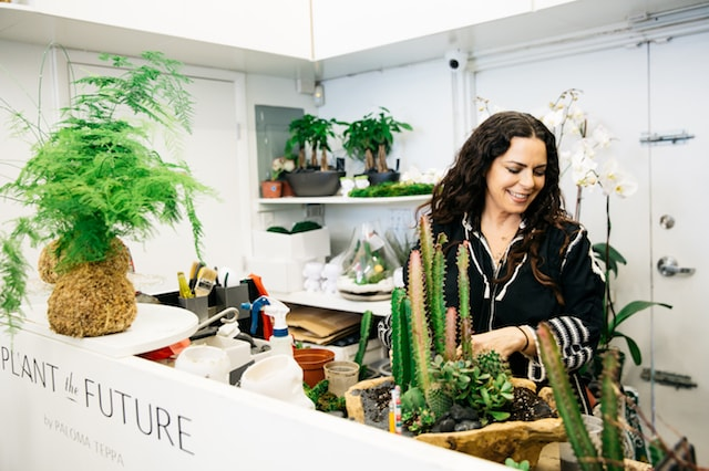 Paloma Teppa at Plant The Future Shop