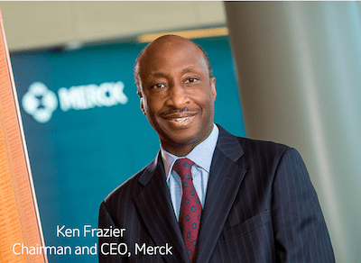 People of Color Kenneth Frazier CEO Merck