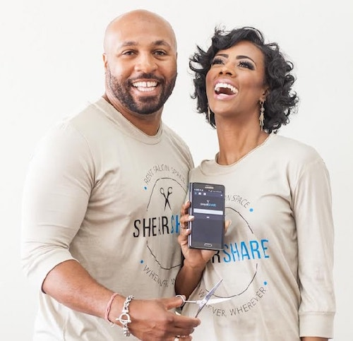 People Of Color Tye and Courtney Caldwell Shearshare
