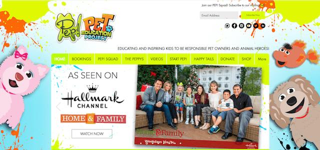 PEP! Homepage