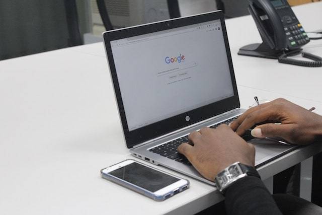 Personal Website Searching on Google Homepage