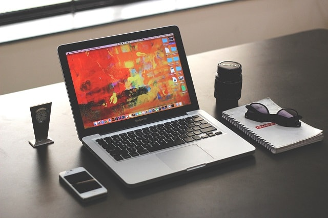 Photography Marketing Laptop