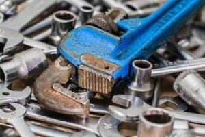 Pile Of Tools Illustrates Social Media Tool Options