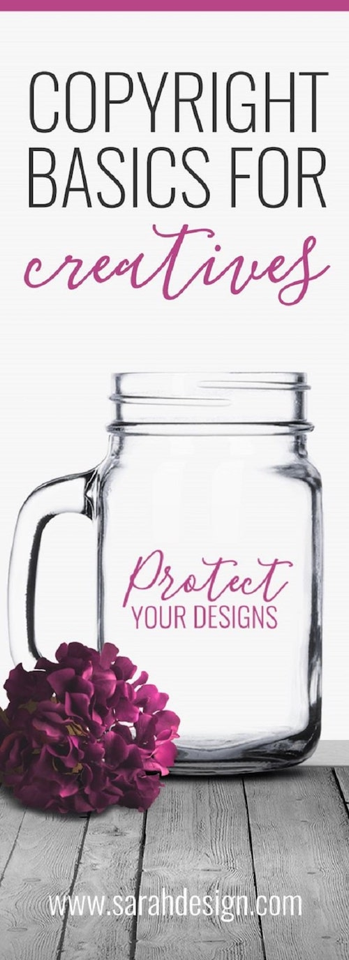 Pinterest Design Copyright