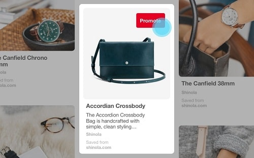 Example Of Promoted Pins On Pinterest