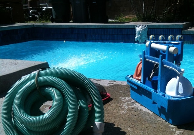 Pool Supply Store Cleaning