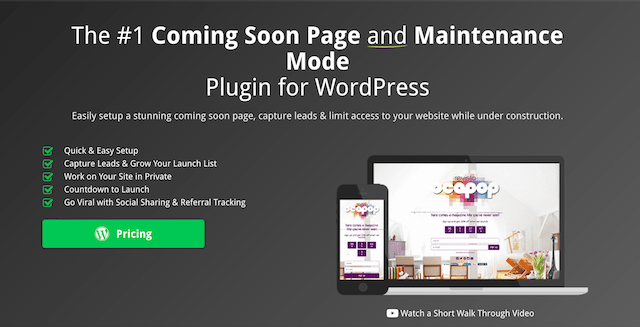 Popular WordPress Plugin SeedProd