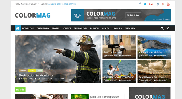 Popular WordPress Plugins ColorMag