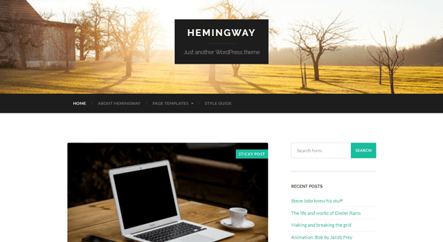 Popular WordPress Plugins Hemingway