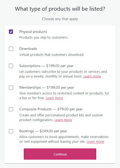Product Types WooCommerce