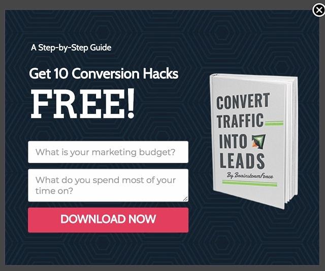 Progressive Filing Conversion Hacks