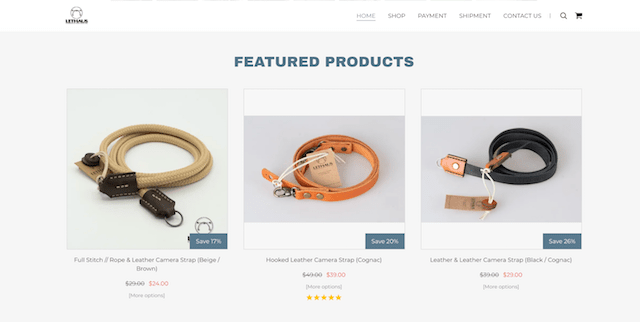 Promote Online Store Lethaus Featured Products Discounts