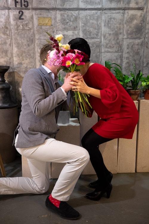 Rachel Cho Floral Design Husband