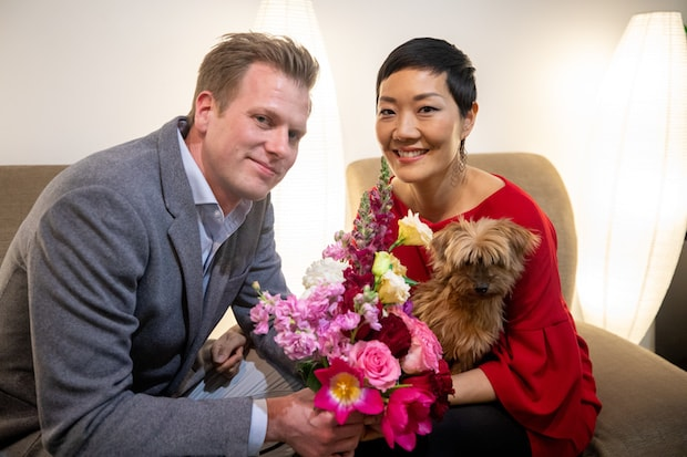 Rachel Cho Floral Design Husband and Wife