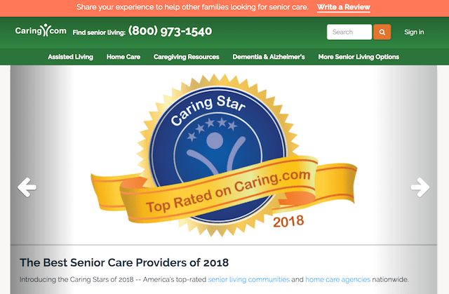 Review Sites Caring