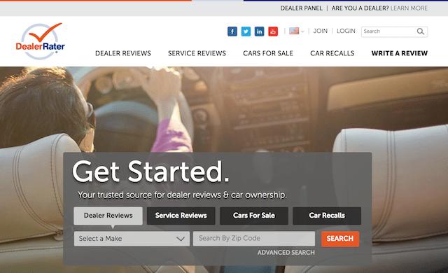 Review Sites DealerRater
