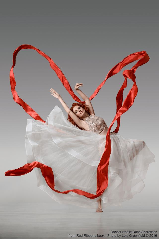 Rubans Rouges Dance White