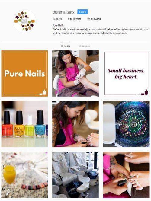 Salon Instagram Purenailsatx