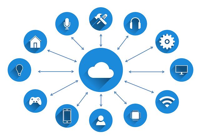 Secure Cloud Storage Icons