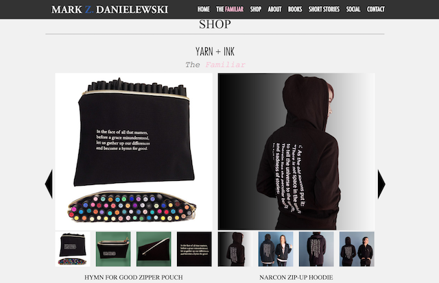 Sell Books Online Mark Z. Danielewski Store