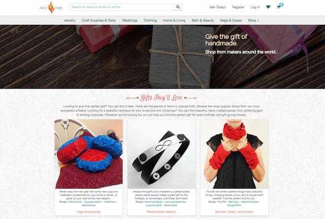 Sell Crafts Online ArtFire