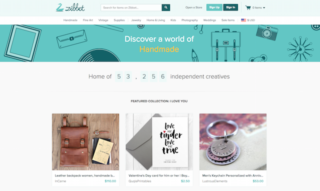 Sell Crafts Online Zibbet