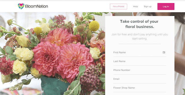 Sell Flowers Online BloomNation