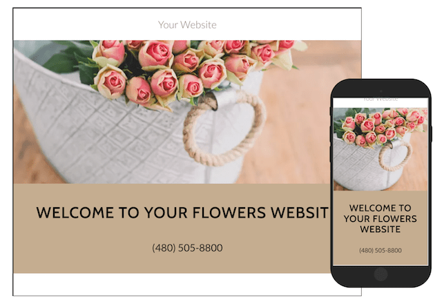 Sell Flowers Online GoCentral