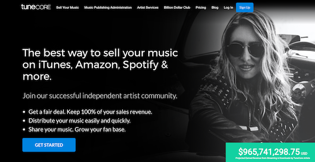 Sell Music Online Tunecore