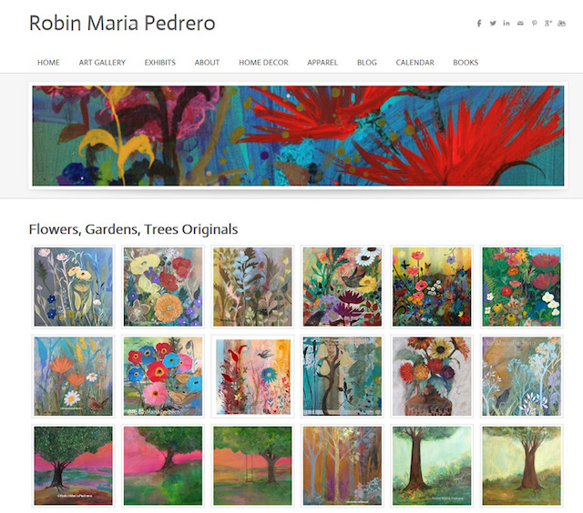 Sell Paintings Online Marketplace Robin Pedrero Gallery