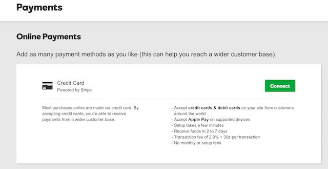 Vendi roba online Pagamento GoCentral