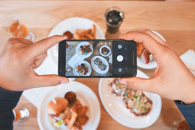 SEO For Restaurants Mobile Phone Food