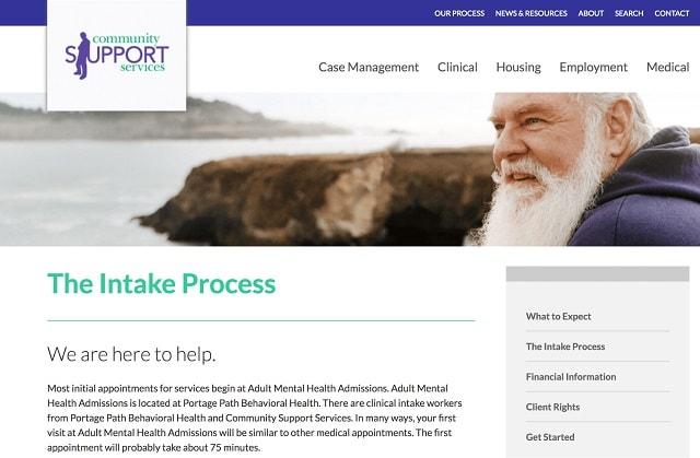 Service Intake Process Help