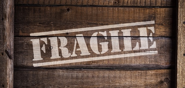 Expédition pour les petites entreprises fragiles