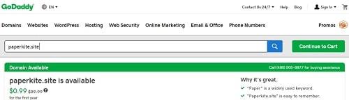 Site Domain Paperkite